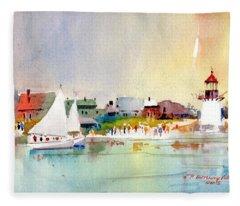 Island Light Fleece Blanket