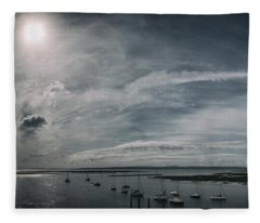 Island Panorama Fleece Blanket