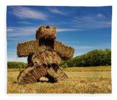 Island Strawman Fleece Blanket
