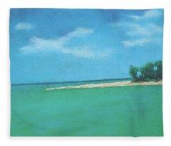 Island Time Fleece Blanket