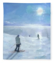 Islands In The Cloud Fleece Blanket