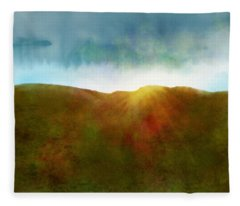 It Began To Dawn Fleece Blanket