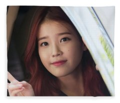 IU Fleece Blanket