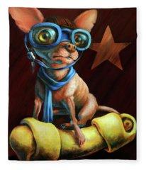 Chihuahua Fleece Blankets