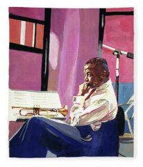 Clifford Brown Fleece Blanket