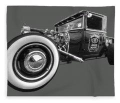 Jack Daniels Vintage Hot Rod Delivery Fleece Blanket