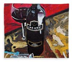 Jacuzzi Wine Fleece Blanket