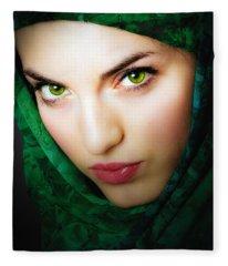 Jade Fleece Blanket