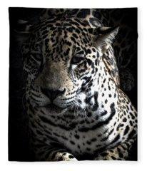 Jaguar Fleece Blanket