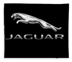 Jaguar Logo Fleece Blanket