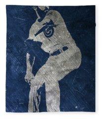 Jake Arrieta Chicago Cubs Art Fleece Blanket