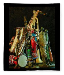 Jam Session Fleece Blanket