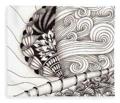 Jamaican Dreams Fleece Blanket