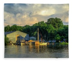 James River Marina Fleece Blanket
