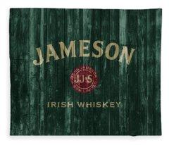 Jameson Irish Whiskey Barn Door Fleece Blanket