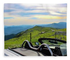 Japan - Beautiful Road Fleece Blanket