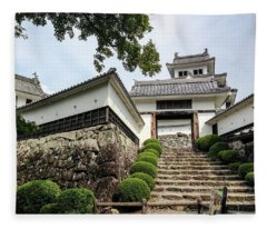 Japan - Gujo Hachiman Castle Fleece Blanket