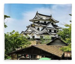 Japan - Hikone Castle Fleece Blanket