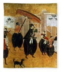 Japan: St. Francis Xavier Fleece Blanket