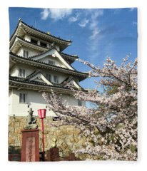 Japan - Sunomata Castle Fleece Blanket