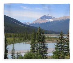 Jasper Alberta Fleece Blanket