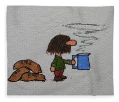 Java Fleece Blanket