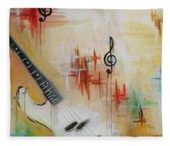 Jazz 001 Fleece Blanket