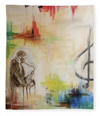 Jazz 002 Fleece Blanket