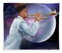 Jazz Universe Fleece Blanket