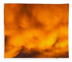 Mixed Feelings Fleece Blanket