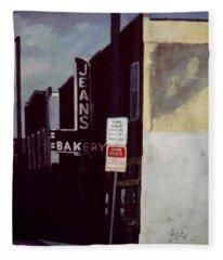 Jean's Bakery Fleece Blanket