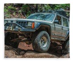 Jeep Cherokee Fleece Blanket