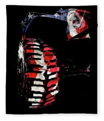 Jeep Jk Freedom Edition Fleece Blanket
