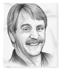 Jeff Foxworthy Fleece Blanket