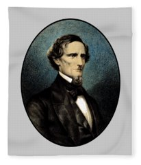 Jefferson Davis Fleece Blanket