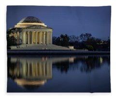 Jefferson Reflecting Fleece Blanket