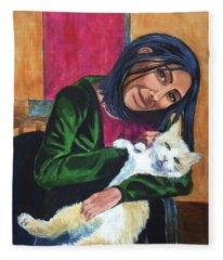 Jenny And Rogan Fleece Blanket