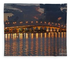 Jensen Beach Causeway Fleece Blanket