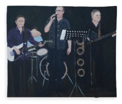 Jerry And The Springers Fleece Blanket
