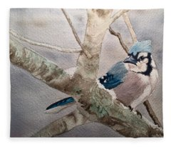 Cold Winter's Jay Fleece Blanket