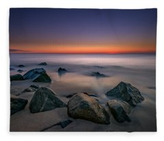 Jersey Shore Tranquility Fleece Blanket