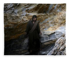 Jesus Christ- The Lord Is My Light And My Salvation Fleece Blanket