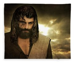 Jesus Christ- Will You Hear Me Shout Come Up Fleece Blanket