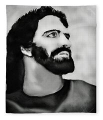 Jesus Fleece Blanket