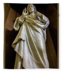 Jesus - Son Of God Fleece Blanket