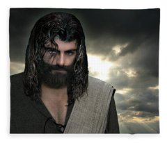Jesus- Will You Hear Me Shout Come Up Fleece Blanket