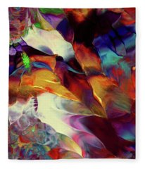 Jewel Island Fleece Blanket