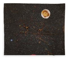 Fleece Blanket featuring the painting Jewel Of The Night by Michael Lucarelli