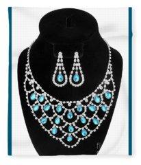 Jewelry 1 Fleece Blanket