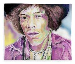 Jimi Fleece Blanket